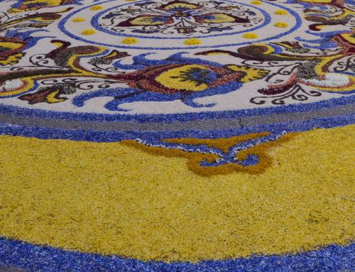 Castelraimondo si colora per la 26a Infiorata del Corpus Domini