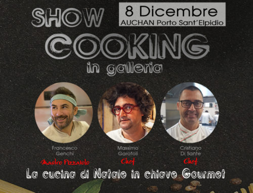 Show Cooking in galleria: l'8 dicembre all'Auchan di Porto Sant'Elpidio FM